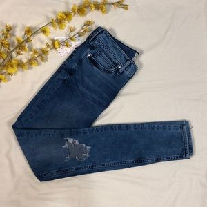 NWT Free People Busted High Rise Skinny Jeans, 27L